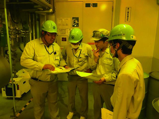 千葉工場パイロット生産課活動風景